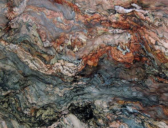 A Sample Of Brown Granite